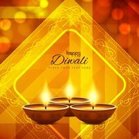 Abstrakter glücklicher Diwali Hintergrund