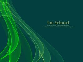 Abstract colorful stylish glowing wave background