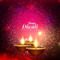 Abstract Happy Diwali beautiful decorative background