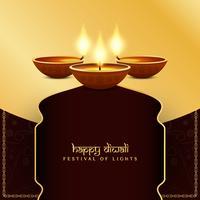 Fondo di festival di Diwali felice religioso astratto