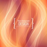Abstract stylish wave background design