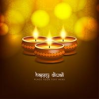 Abstract beautiful Happy Diwali greeting background