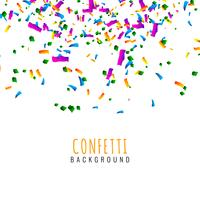 Abstract colorful confetti celebration background