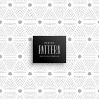 stylish subtle dots triangle pattern background
