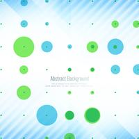 Abstract geometric background with colorful dots