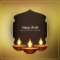 Abstract Happy Diwali decorative background