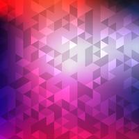 Fondo de mosaico geométrico colorido abstracto