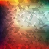 Abstracte kleurrijke geometrische mozaïekachtergrond