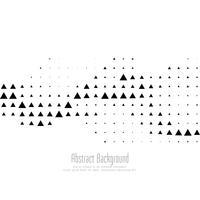 Fondo de semitono triangular abstracto