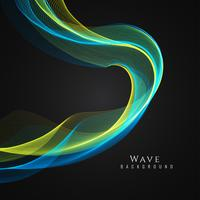 Abstract elegant wave stylish background