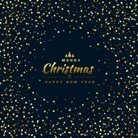 stylish glitter background for merry christmas