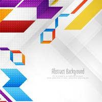 Abstract stylish geometric shape background