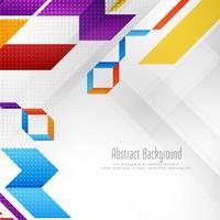 Abstrakter stilvoller geometrischer Formhintergrund