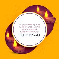 glad diwali indian festival hälsning mall