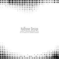 Abstract halftone design background