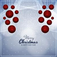 Abstract Merry Christmas modern background