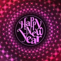 Abstract stylish Happy New Year 2019 background