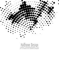Abstract black halftone design background
