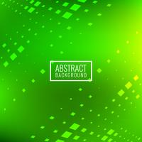 Abstract bright green square blocks background