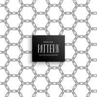 abstract honeycomb pattern line art