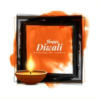 Abstrakt Glad Diwali religiös elegant bakgrund
