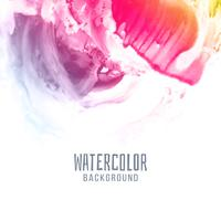 Abstract stylish colorful watercolor background