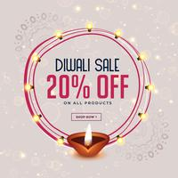 happy diwali festival sale banner design