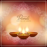 Abstract beautiful Happy Diwali festival background vector