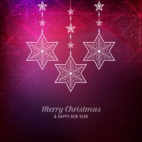Abstract elegant Merry Christmas background