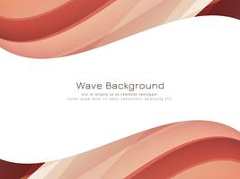 Abstract colorful wavy background
