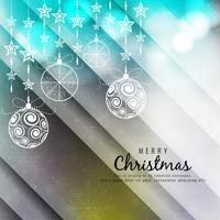 Abstract colorful Merry Christmas background vector