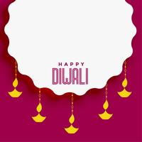 diwali festival bakgrund med textutrymme