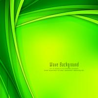 Abstract colorful modern wave background