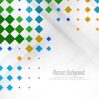 Fundo geométrico colorido abstrato