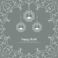 Abstract Happy Diwali background;