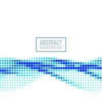 Abstrait bleu mosaïque