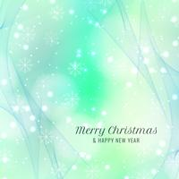 Abstract bright Merry Christmas background vector