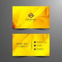 Abstract bright Business card design
