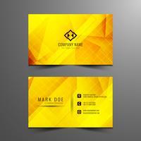 Diseño brillante abstracto de la tarjeta de visita