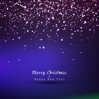 Abstract glowing Merry Christmas background