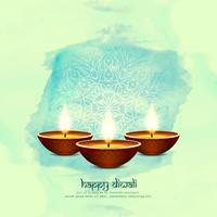 Abstract Happy Diwali background;  vector