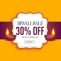 glad diwali försäljning och erbjudande mall