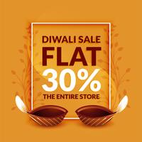 stylish diwali discount and sale banner template design