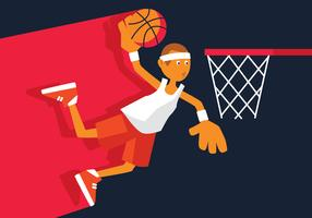 Basketbal vectorillustratie