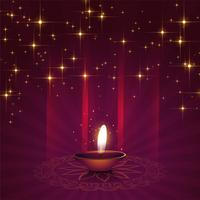Schöner Diyahintergrund für diwali Festival