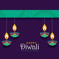 belo design feliz diwali festival saudação