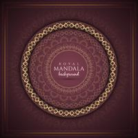 Abstract luxury mandala background