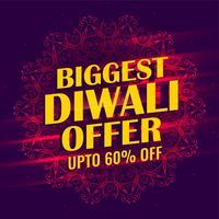 största diwali försäljning banner mall design