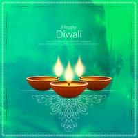 Abstract elegant Happy Diwali background
