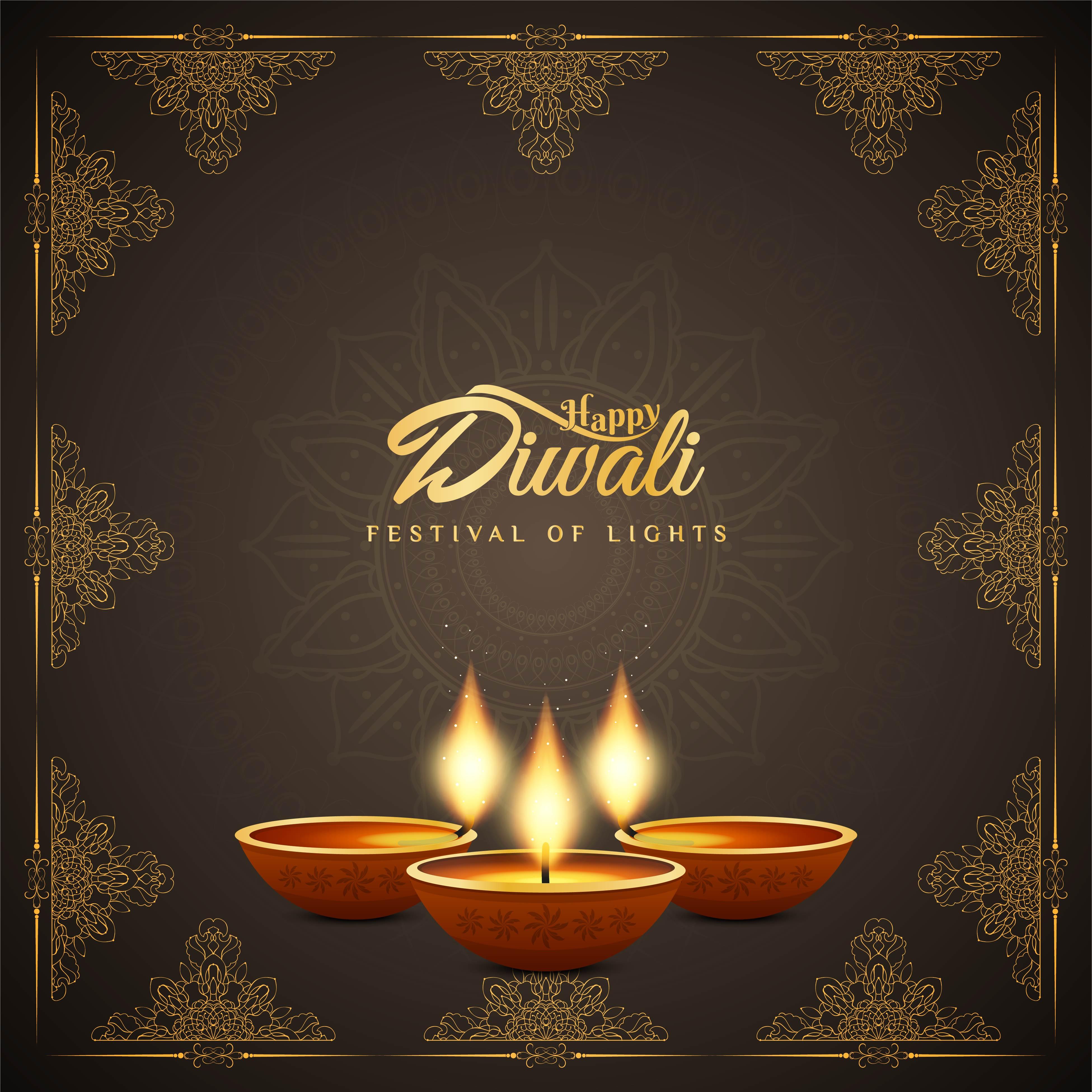 Resume Festival De Joyeux Diwali Telecharger Vectoriel Gratuit Clipart Graphique Vecteur Dessins Et Pictogramme Gratuit